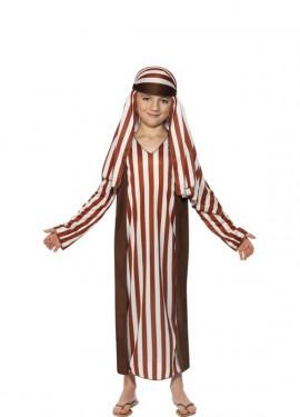 Disfraz de Pastor a Rayas para niño