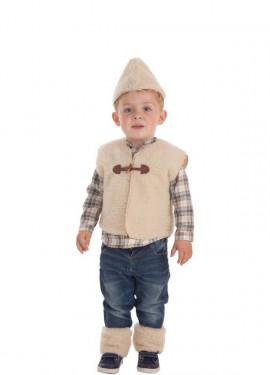 Disfraz de Pastor con Chaleco para bebé