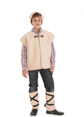Disfraz de Pastor con Chaleco para niño