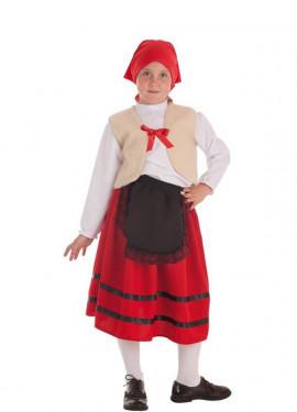 Disfraz de Pastora con Chaleco para niña