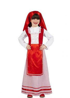 Disfraz de Pastora de Belén para niña