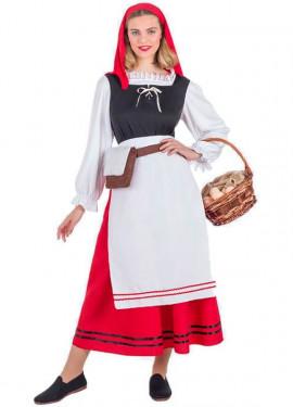Costume da campesina per donna