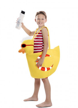 Disfraz de Patito de Ducha para niños