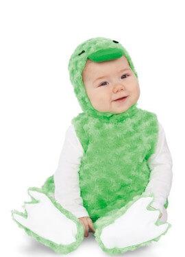 Disfraz de Patito Verde para bebé