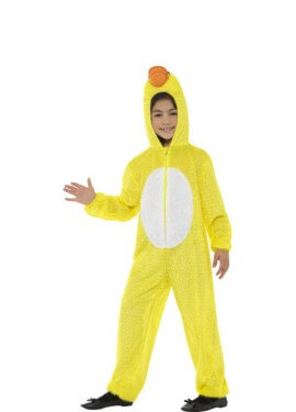 Disfraz de Pato Amarillo para niños