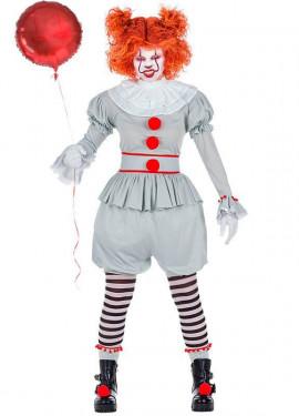 Déguisement de Clown Térrifiant pour femme