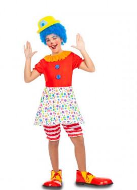 Déguisement de Clown à Pois pour fille