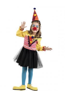 Disfraz de Payasa con Tutú para niña