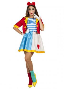 Disfraz de Payasa de Circo para mujer