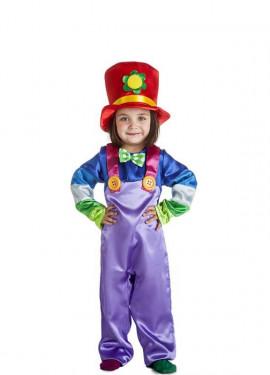 Disfraz de Payasa Flor para niñas