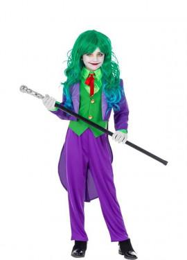 Disfraz de Payasa Risueña para niña