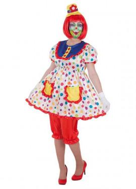 Disfraz de Payasa Tina para mujer
