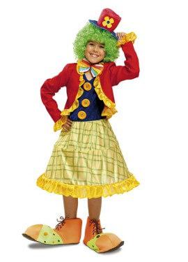 Disfraz de Payasita para niña