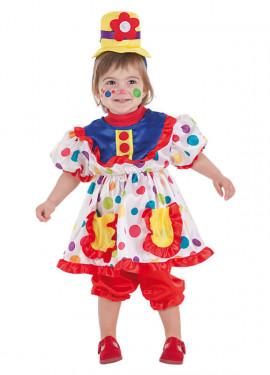 Disfraz de Payasita Tina para bebé