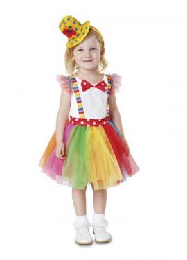 Disfraz de Payasita Tutú para niña