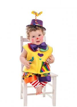 Disfraz de Payasito Love para bebé