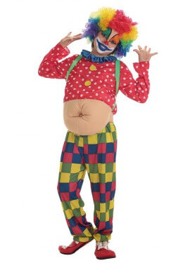 Disfraz de Payasito Spotty para niño