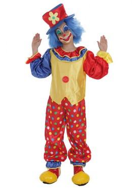 Disfraz de Payasito Pepón para niño