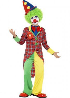 Déguisement Clown Garçon À Carreaux enfants plusieurs tailles