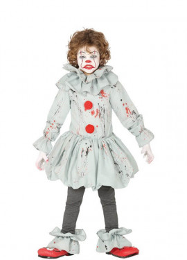 Costume da clown spaventoso per bambino