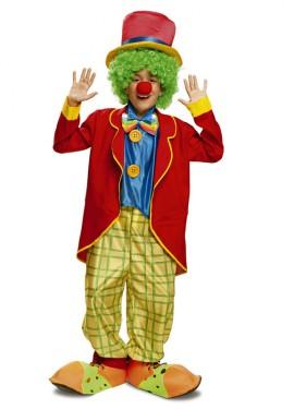 Disfraz de Payaso Colorín para niño