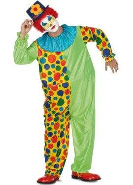 Déguisement de Clown avec Anneau pour homme