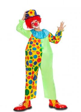 Déguisement de Clown avec Anneau pour enfant