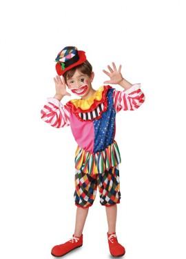 Disfraz de Payaso con Rombos para niño
