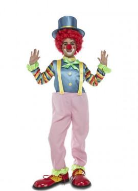 Déguisement de clown avec bretelles pour enfants
