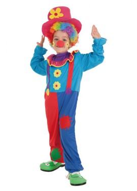 Disfraz de Payaso Crispín para niño