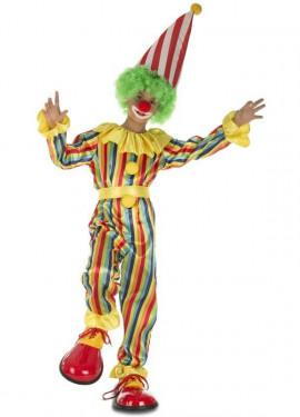 Déguisement de Clown à Rayures pour garçon