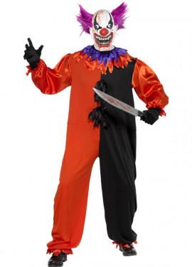 Disfraz de Payaso del Circo Siniestro para hombre
