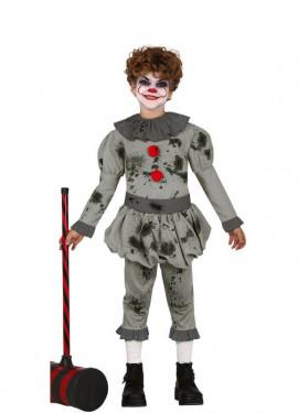 Costume da Pagliaccio del terrore per bambini