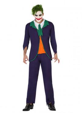 Déguisement de Méchant Clown pour hommes Halloween plusieurs tailles