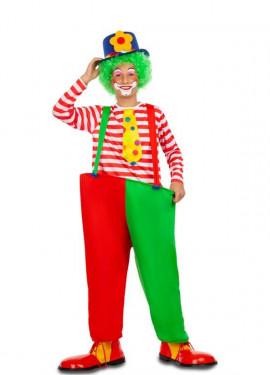 Déguisement de Clown Rouge et Vert pour garçon