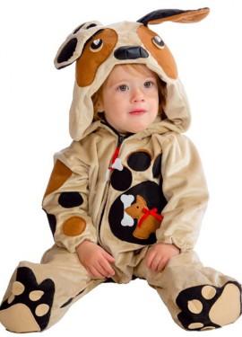 Disfraz de Pelele Perrito para bebé de 10 meses