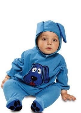Disfraz de Perrito Azul para bebé