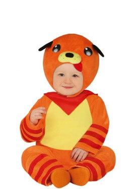 Déguisement chiot orange pour bébé