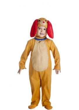 Disfraz de Perrito Naranja para niños y bebé