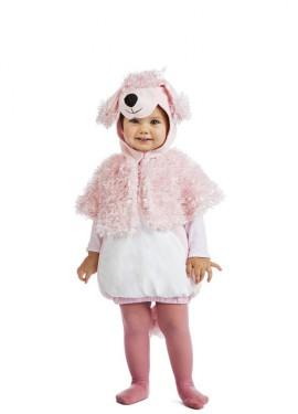 Disfraz de Perro Caniche Peluche para bebé