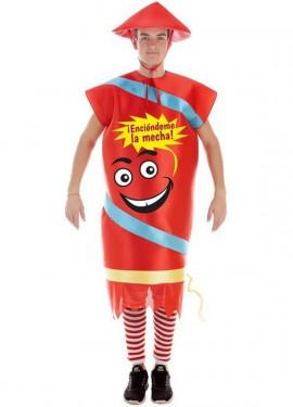 Disfraz de Petardo Chino para adultos