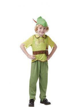 Disfraz de Peter Pan Clásico para niño