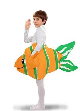Disfraz de Pez Payaso para niños