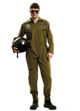 Disfraz de Piloto de Avión Top Gun para hombre