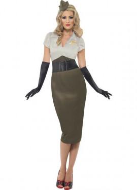 disfraz mujer anos 40