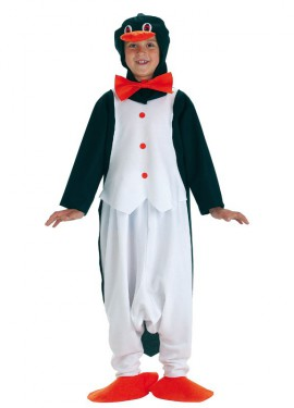 Disfraz de Pingüino con pajarita para niño