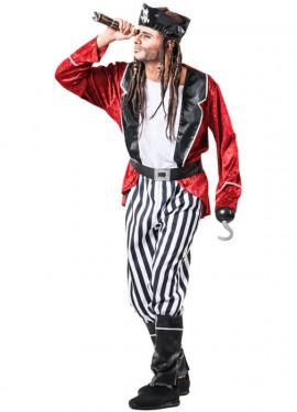 Disfraz de Pirata a Rayas para hombre