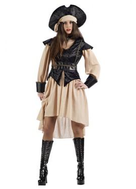 Déguisement Pirate Anne pour femme