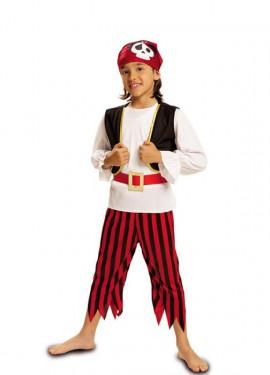 Disfraz de Pirata Calavera para niño