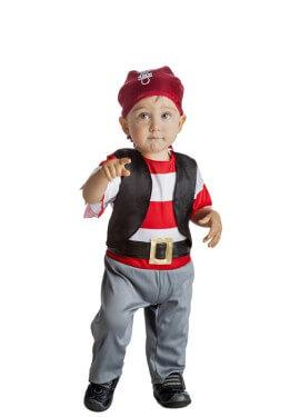 Disfraz de Pirata Chupete para niño